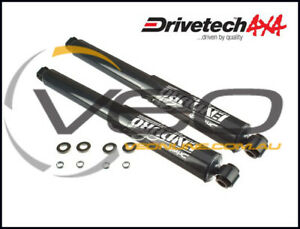 GREAT WALL V240 K2 2.4L 4WD/2WD 6/09-12/14 REAR DRIVETECH 4X4 ENDURO GAS SHOCKS