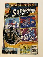 Superman Action Comics #689 1st black superman costume NM