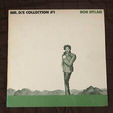 Rare vintage Bob Dylan Memorabilia item- Mr D's Collection #1 Lp