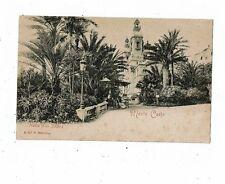 POST CARD PRINTED THEATRE ET LES JARDINS MONTE CARLO