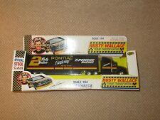 Road Champs 1/64 Rusty Wallace #2 Pontiac Excitement Team Transporter -1992*