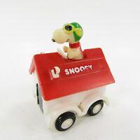 Vintage Peanuts Snoopy Flying Ace Aviva Dog House car Vehicle