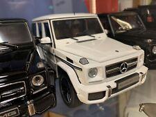 Mercedes Benz G63 AMG W463 1:18 Weiß AutoArt OVP