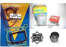 Suzuki RM 125 00-03 Mitaka Top End Rebuild Kit Piston B Gasket Small End Bearing