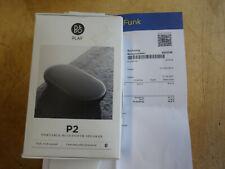 Bang & Olufsen B&O BEOPLAY P2 in schwarz Black Portable Bluetooth Speaker in OVP