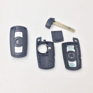 Car Key Shell FOB Case For BMW 1 3 5 6 Series E90 E91 E92 E60 868Mhz Logo New