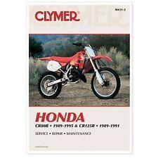 Clymer Honda CR80R 89-95 CR125R 89-91 M431-2 Service Manual