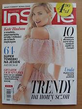 IN STYLE 9/2014 KATE HUDSON,Naomi Campbell,Anja Rubik,Blake Lively,S.Johansson