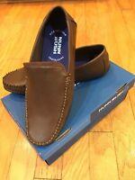 Nunn Bush Men's Size 12 Quail Valley Venetian Slip-on Driving Style Brown Loafer