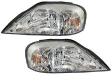 00 01 02 03 04 05 Sable Left & Right Headlight Headlamp Lamp Light Pair L+R