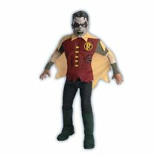 OFFICIALLY LICENSED ZOMBIE ROBIN CHILD HALLOWEEN COSTUME BOY'S SIZE MEDIUM 8-10