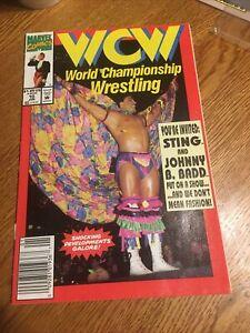 MARVEL COMICS: WCW WRESTLING #10. JOHNNY B. BADD. PM2