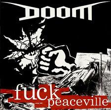 Doom-Fuck Peaceville do-LP Disrupt/Extreme Noise Terror/Napalm Death/discharge