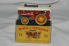 """Matchbox MOY Yesteryear #Y-9 Fowler """"Big Lion"""" Showman's Engine, Nice, Boxed"""