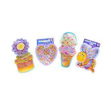 4x/set Children Stickers Earring Cartoon Reward Crystal Stickers Toy HC