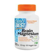 DOCTOR'S BEST, BRAIN MAGNESIUM mit Magtein Gehirn 50mg 90 Veg. Kapse SUPER PREIS