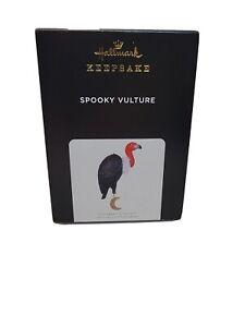 NEW 2021 Spooky Vulture Halloween Hallmark Keepsake Ornament