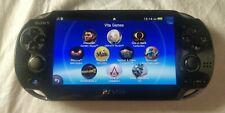 PS Vita PCH-1101 Wifi Henkaku Enso CFW Modded 64GB - Loaded with games & apps