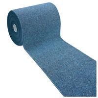 Tappeto bagno bordato corsia multiuso al metro h57 antiscivolo mod.ALEXA B blu