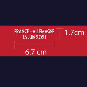 France FFF EURO 2020 Reproduction Match Details