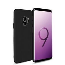 For Samsung Galaxy S9 Case Slim Silicone Ultra Soft Gel & Glass Screen Protector