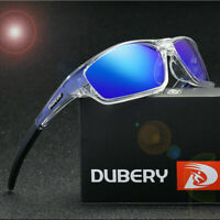 DUBERY Men's Polarized Sport Sunglasses Outdoor Driving Fishing Square Glasses