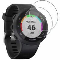 Deco Essentials Tempered Glass Screen Protector x2 for Garmin Forerunner 45