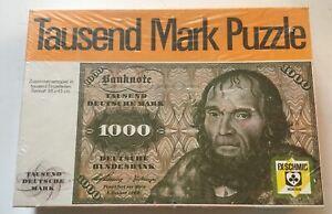 FX Schmid Munchen Tausend Deutsche Mark 1000 Stucken/Piece Jigsaw Puzzle NISB