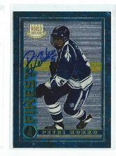 Petri Kokko Signed 1994/95 Finest Card #127