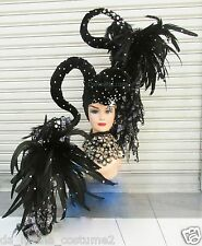 DaNeeNa H193 Queen of The Magician Crystal  Showgirl Dance pageant Headdress