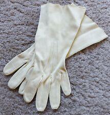 Cream Gloves