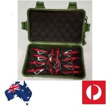12PK + Case Xpiggy Red Devil Broadheads 100gr 3 Blade - Bow hunting
