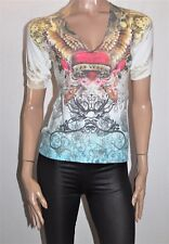 WELCOME TO LAS VEGAS Brand Short Sleeve Knit Top Size S/M/L BNWT #TH29