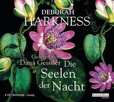 Die Seelen der Nacht von Deborah Harkness 8 Audio-CDs (2011)