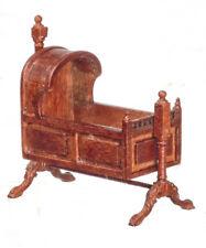 24th scale Dolls House  Tudor Cradle Walnut JJS05006WN
