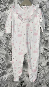 Girls Age 3-6 Months - Pretty Sleepsuit - Immaculate Condition