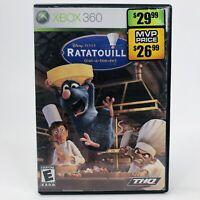 Xbox 360 Ratatouille Video Game Microsoft Console Game Action Adventure Disney