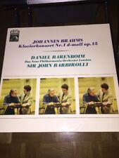 Johannes Brahms LP Klavierkonzert Nr.1 d-moll Op 15 Daniel Barenboim