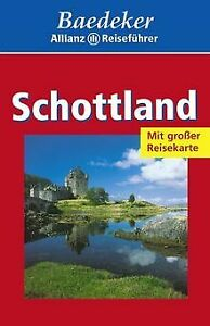 Baedeker Allianz Reiseführer, Schottland   Buch   Zustand gut