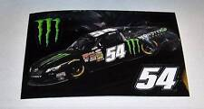 KYLE BUSCH MONSTER ENERGY BOX OF STICKERS~3 PIECE PULL OFF~100 NEW IN BOX approx