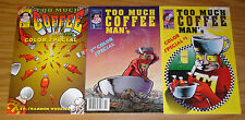 Too Much Coffee Man Color Special #1-3 VF- complete series - shannon wheeler 2
