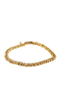 Links of London Womens Gold Tone Sterling Silver Sweetie XS Bracelet