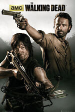 """THE WALKING DEAD - TV SHOW POSTER / PRINT (RICK & DARYL) (SIZE: 24"""" X 36"""")"""