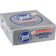 York Peppermint Patties Mint covered in dark chocolate  1.4 oz patty 36 ct Candy