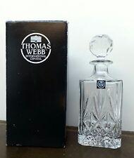 In scatola Thomas WEB Cristallo Vino Decanter Berkeley Square Spirito taglio PIOMBO WHISKY