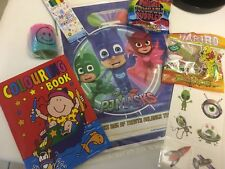 PJ MASKS Pre Filled Goody Bag, Ready Made Birthday Party Loot Favours pj Mask