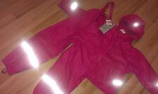 2 tlg. Impidimpi Regenanzug Gr.122/128 gefüttert Regenkombi Matschanzug Pink NEU
