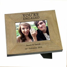Engraved Wedding Anniversary Engraved gift  by Cellini Gifts Photo Frame #6