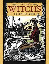 New, Llewellyn's Witch's Coloring Book, Llewellyn, Vibbert, Caroline, Hsu, Wen,