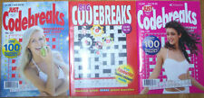 1st Edition Crosswords Puzzle, Trivia & Indoor Games Books